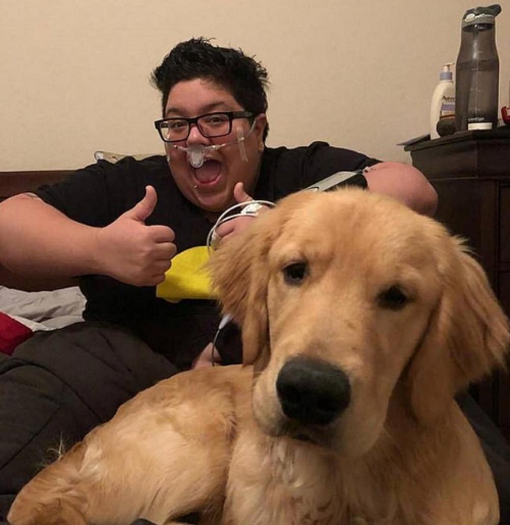 女主人表示幸得金毛犬救她一命。(網圖)