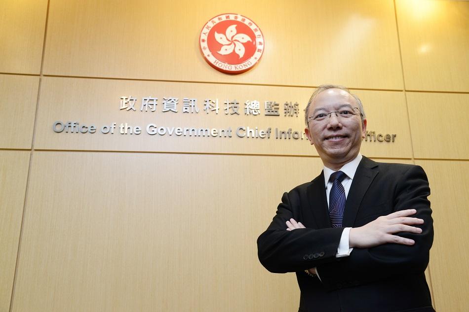 政府資訊科技總監林偉喬。資料圖片