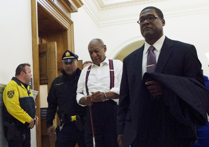 美國著名黑人笑匠標哥士比(Bill Cosby)周二被判入獄3至10年,法官將他歸類為「性暴力掠奪者」。 AP