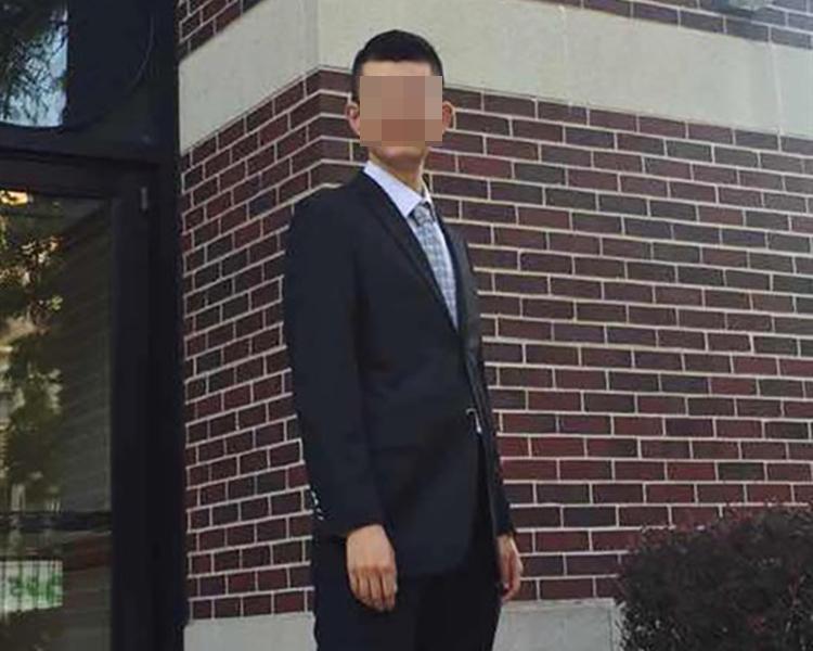 中國公民紀超群懷疑進行間諜活動,在芝加哥被捕。網圖