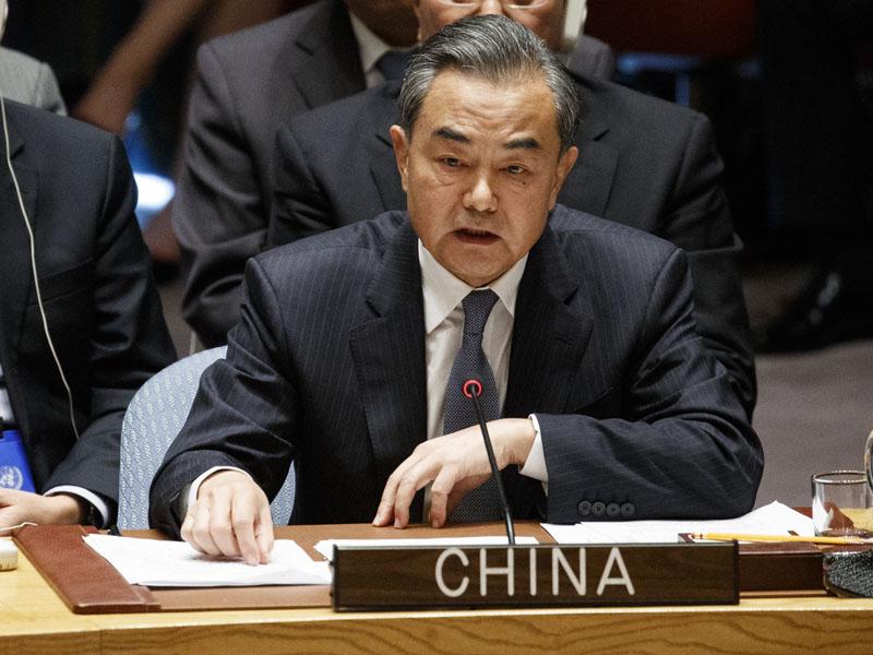 王毅反駁特朗普的指控,強調中國不會干涉任何國家的內政。AP