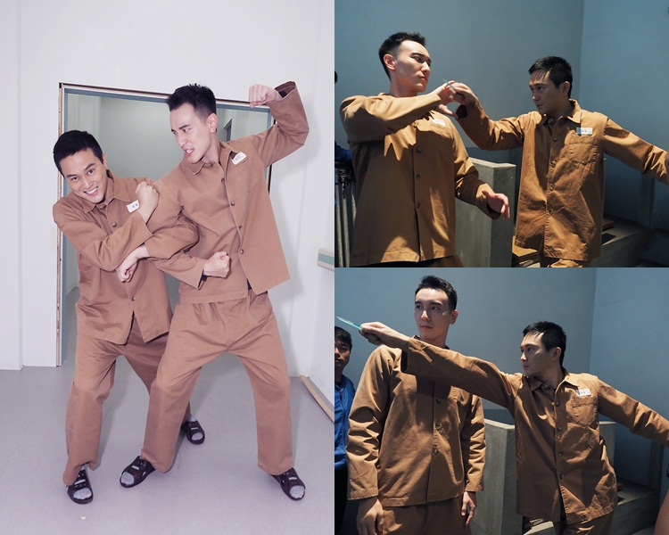 ChiLam同王陽明做慣型仔,難得輕鬆做囚犯,即刻Free晒。