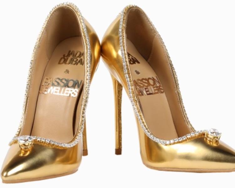 高跟鞋要價1700萬美元。Jada Dubai網站圖片