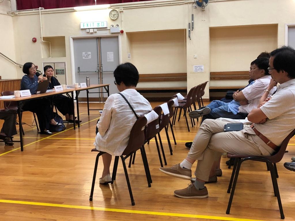 7月尾舉行有關成立葵青地區康健中心的諮詢會。食衛局網站圖片