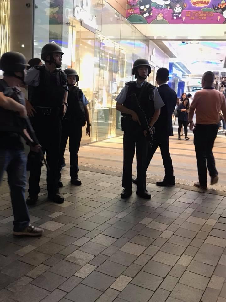 尖沙嘴發生搶劫案。Facebook油尖旺友圖片