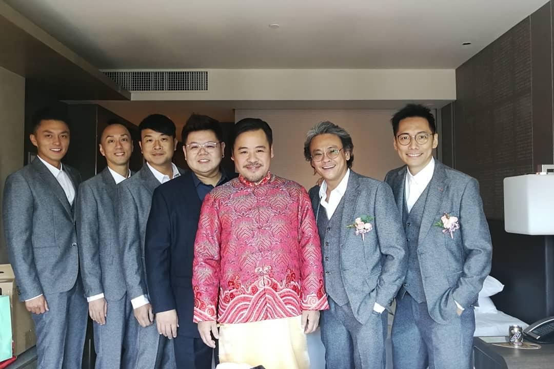 韋家雄準備接新娘(ig圖片)