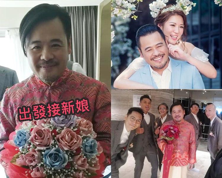 韋家雄再婚,迎娶圈外女友。(ig圖片)