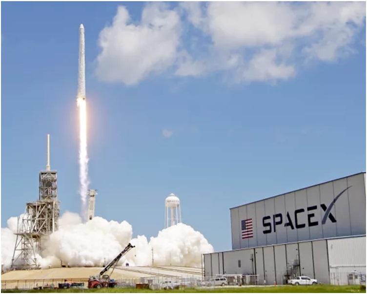 SpaceX研發的火箭將於明年6月,為美國太空總署運載太空人前往國際太空站。AP資料圖片