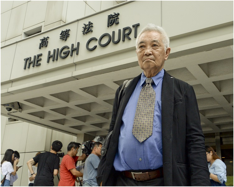 郭卓堅提的司法覆核被上訴法官駁回。