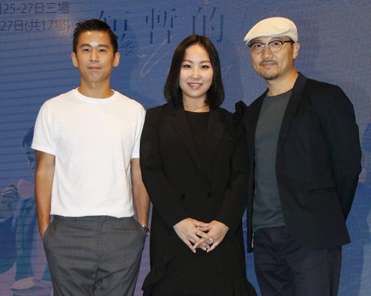 林海峰、楊詩敏及潘燦良明年1月演出舞台劇。