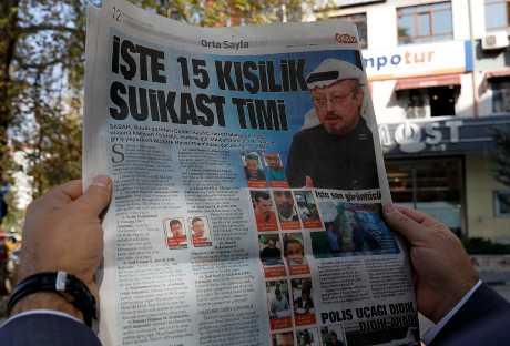 沙特記者哈紹吉離奇失蹤。AP