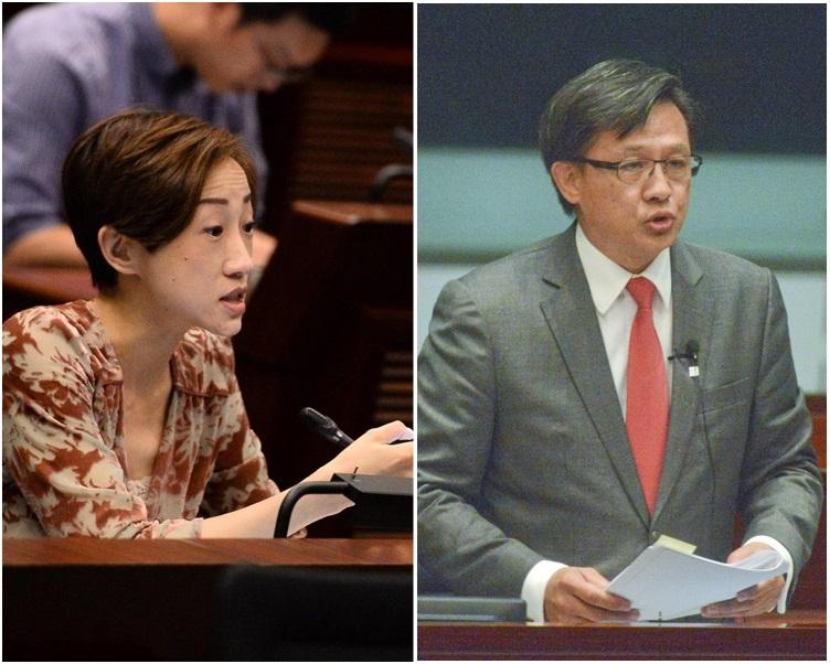 何君堯接替陳淑莊當選主席。