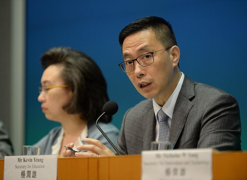 楊潤雄重申兩文三語政策不變。