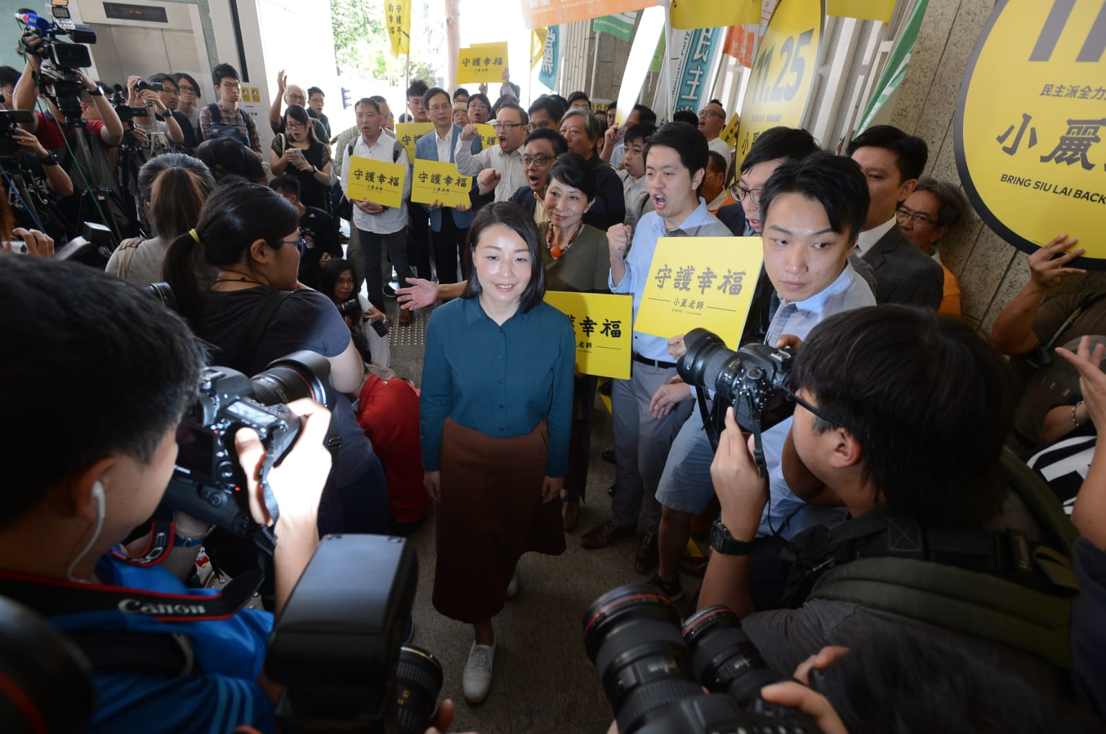 劉小麗月初報名參選立法會九西補選。資料圖片