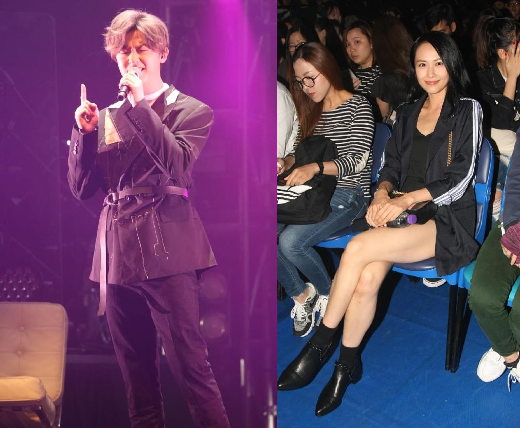 Ken在台上沒有表明多謝女友,他解釋已在歌曲中多謝了她。