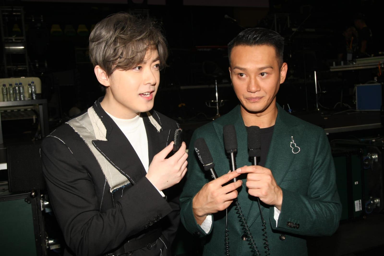 Ken和Deep昨晚完成演唱會。