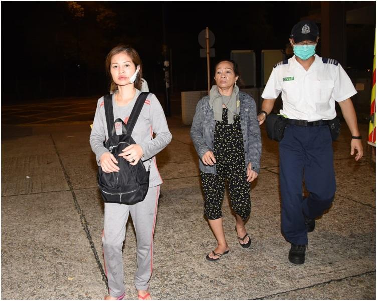 受傷母女清醒被送往廣華醫院治理。