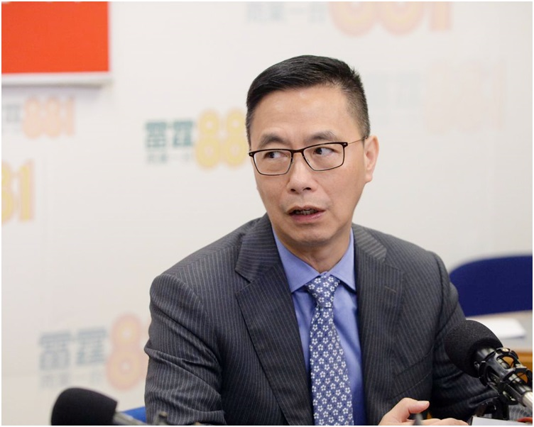 楊潤雄表明他個人支持廣東話。