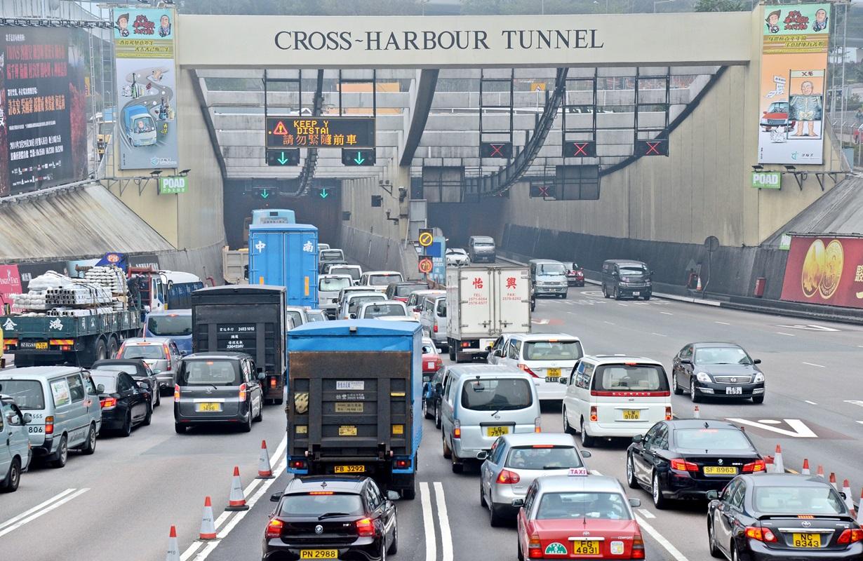 三隧分流惹討論,林鄭料未獲立法會支持。資料圖片