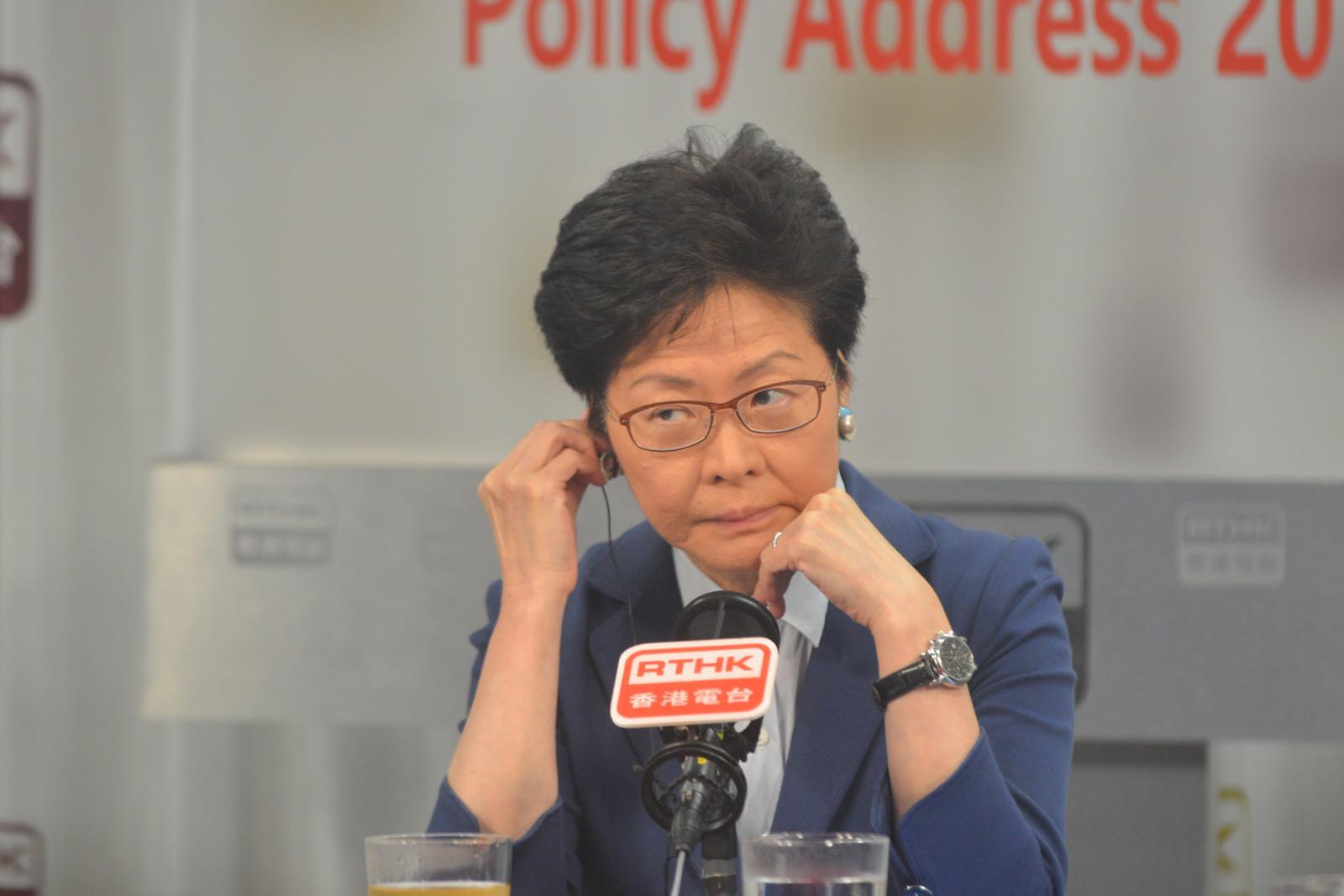 三隧分流惹討論,林鄭料未獲立法會支持。