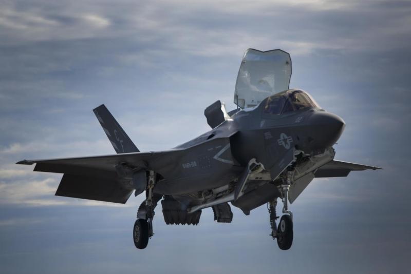 因燃油管出問題,被稱為史上最貴戰機F-35全線同類型戰機停飛。(資料圖片)