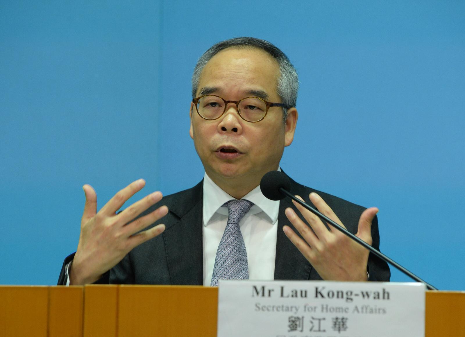 劉江華指不少年輕人有意進一步到大灣區開拓事業。