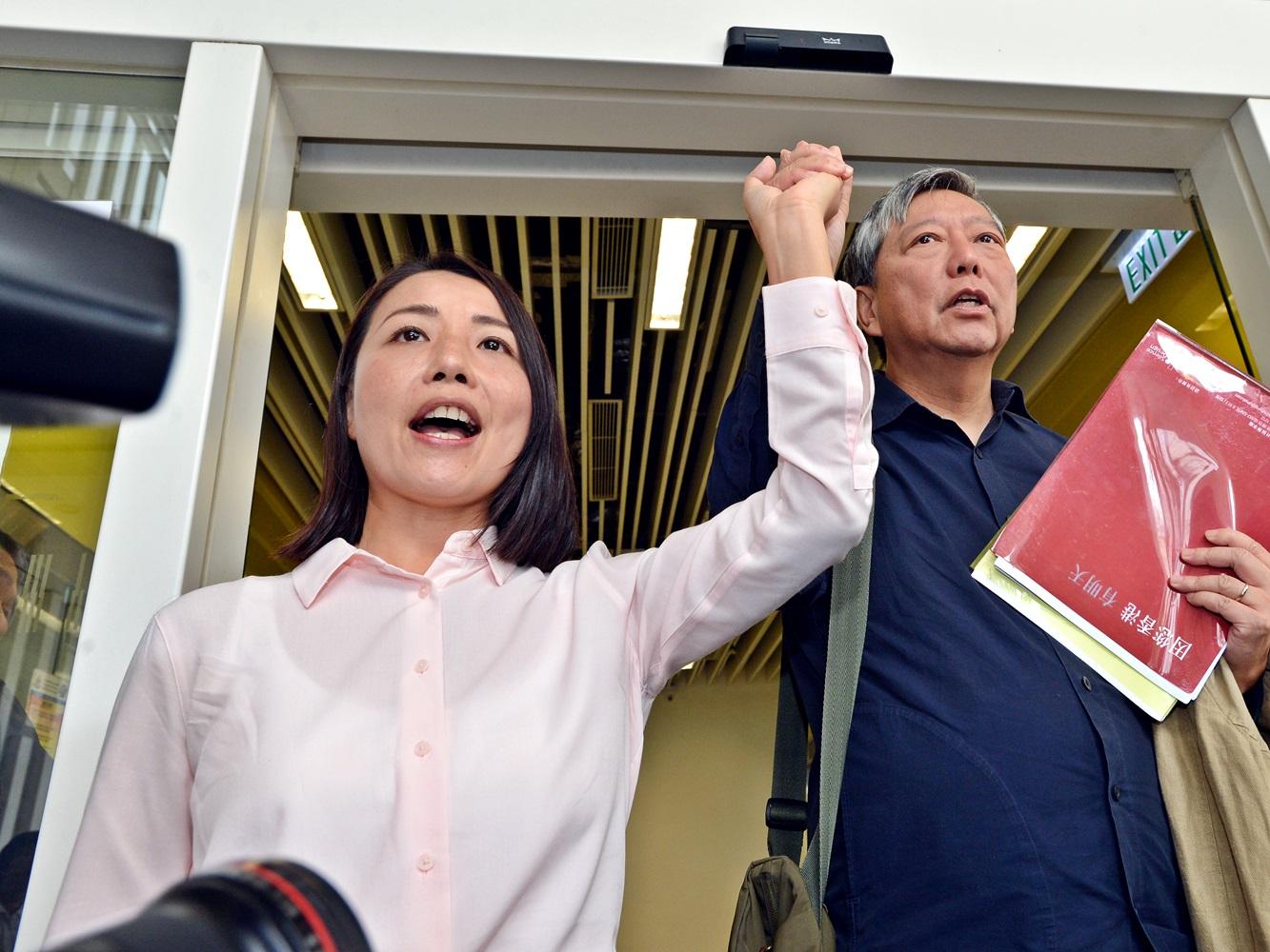 劉小麗被裁定參選提名無效。