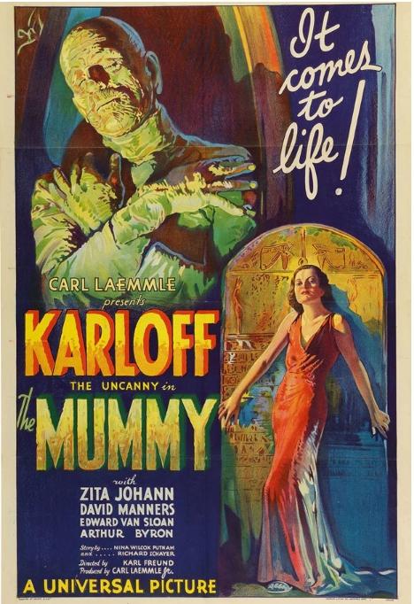 1932年上演的荷里活经典恐怖片。网图