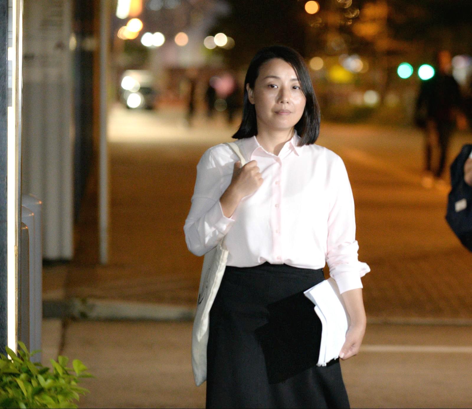 劉小麗強調自己無機會辯解。