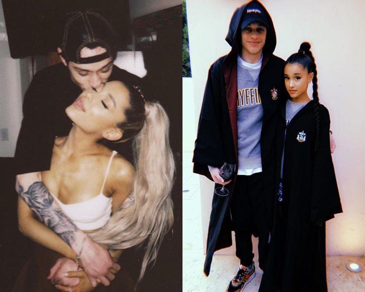 有傳Ariana Grande與未婚夫火速分手。(ig圖片)