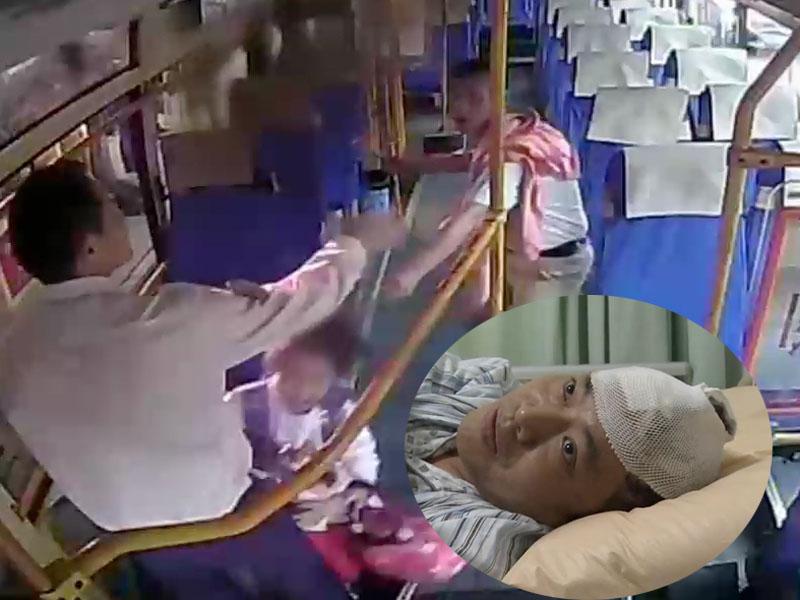重慶巴士司機勇救被挾持10歲女孩。(網圖)