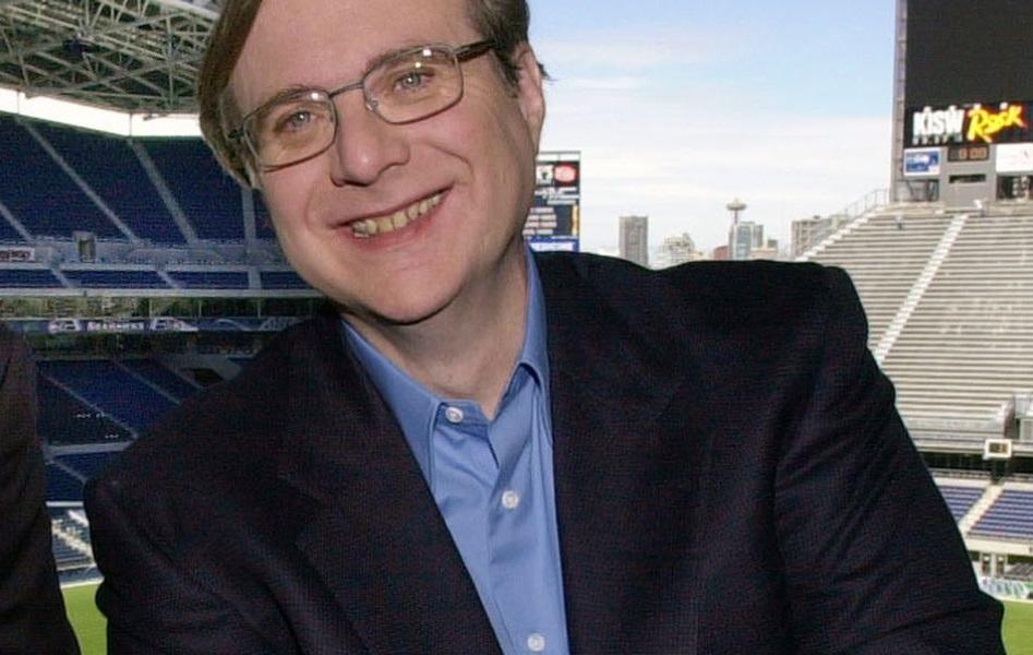 保羅艾倫因非霍奇金氏淋巴瘤併發症,於美國西雅圖病逝。美聯社資料圖片