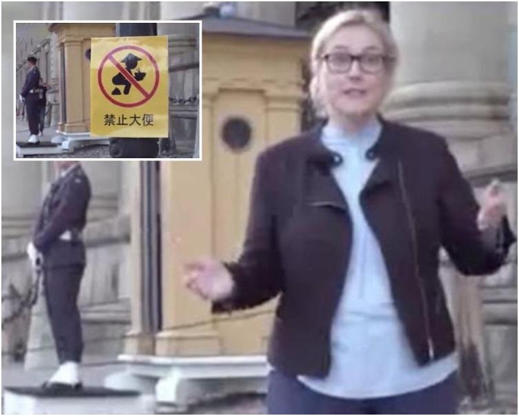 早前,瑞典電視台的娛樂節目《瑞典新聞》引發辱華爭議。資料圖片