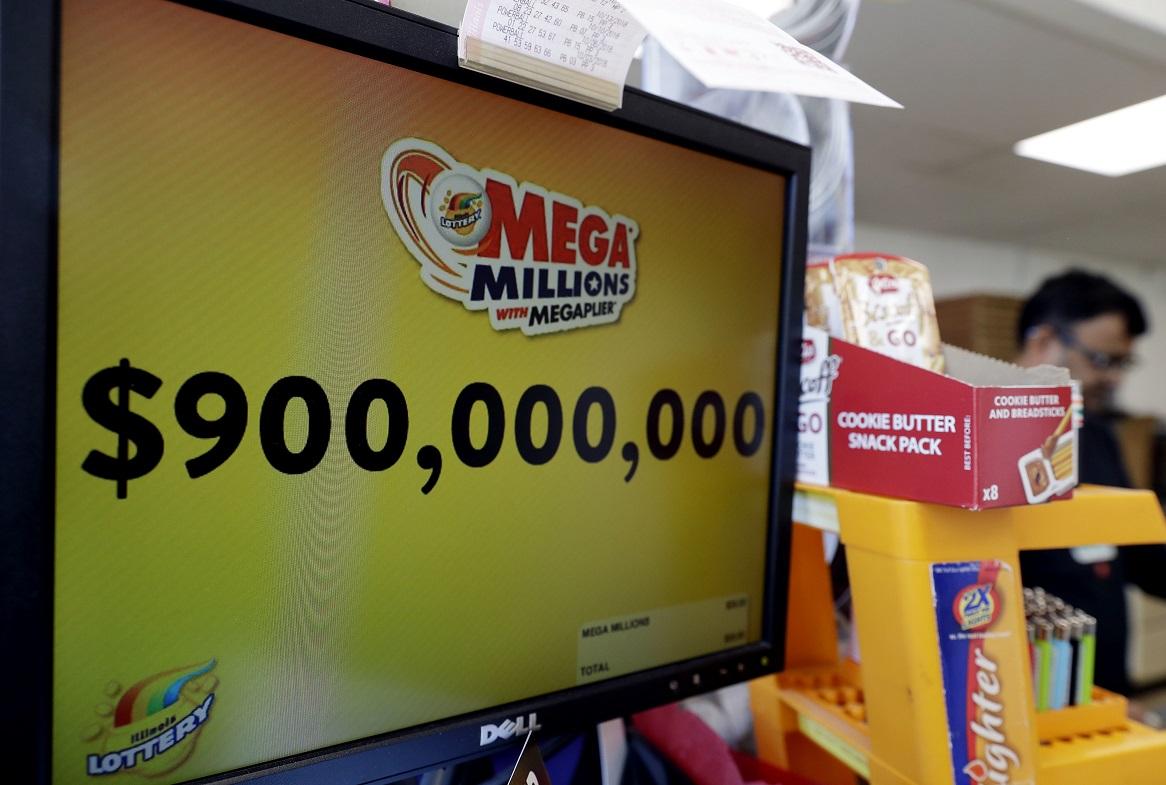 新一期「超級百萬」彩票,累積獎金高達9億美元,創下自從創辦以來的第二高水平。AP