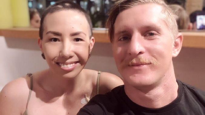 露絲扮患癌籌30萬港元。網上圖片