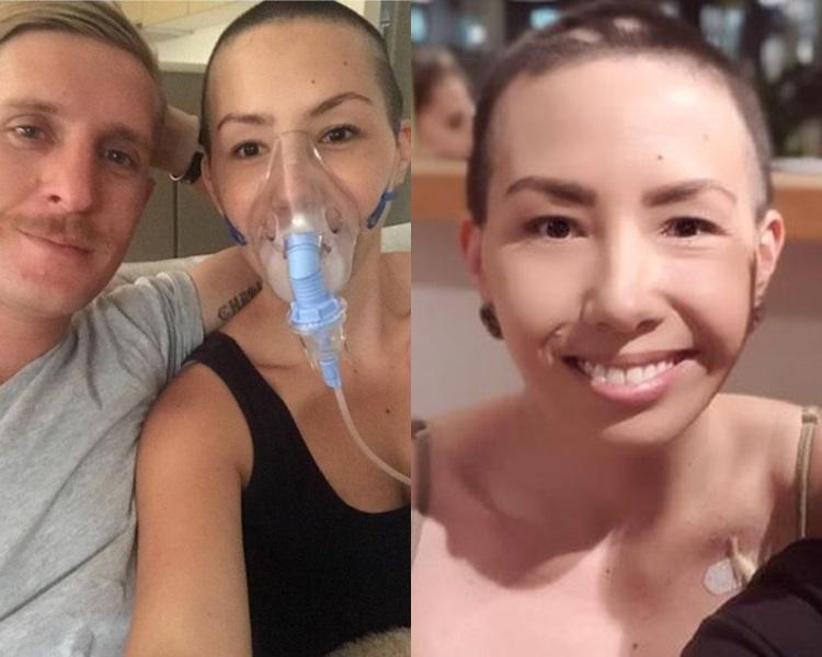 露丝扮患癌筹30万港元。网上图片