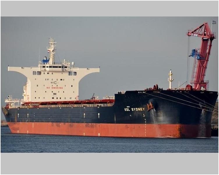 货轮「MV KSL Sydney号」。