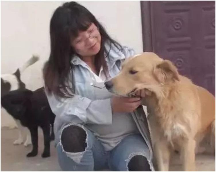 王蕾指照顧牠們時間長了視狗狗如自己的子女。