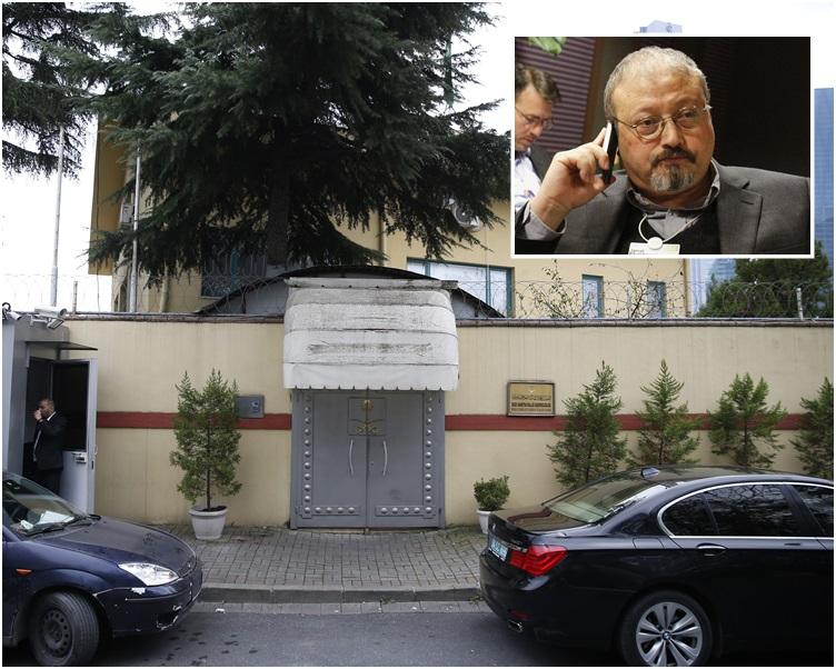 卡舒吉在沙特驻土耳其伊斯坦布尔领事馆内被杀震动全球。