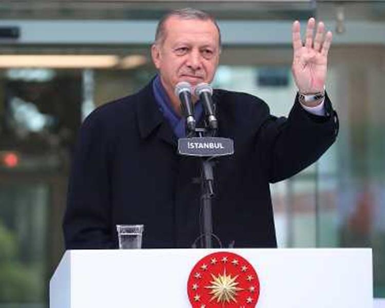 土耳其总统埃尔多安。