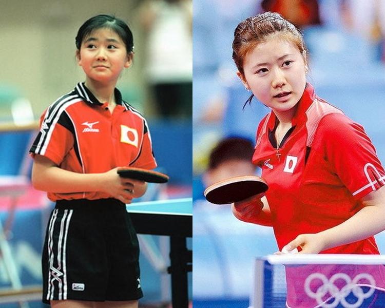 福原愛3歲開始便打乒乓球。