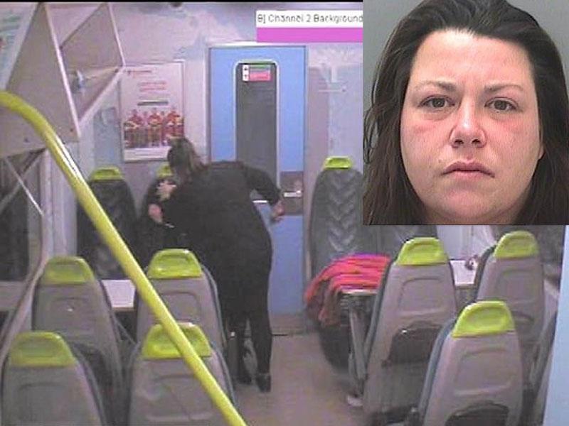 英国一名女子出狱返乡 竟因「一封短信」,狂捅20年好友。(网图)