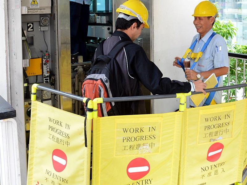 市建局表示,初步計劃會按升降機的情況和年齡,資助維修全港5,000部升降機,每個項目的資助額是60%,上限是每部升降機50萬元。