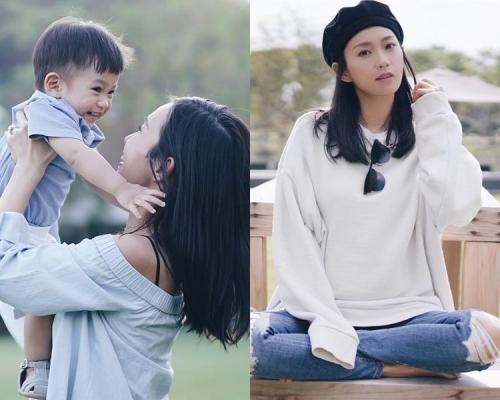 楊愛瑾宣佈佗第2胎 囝囝Luken做哥哥