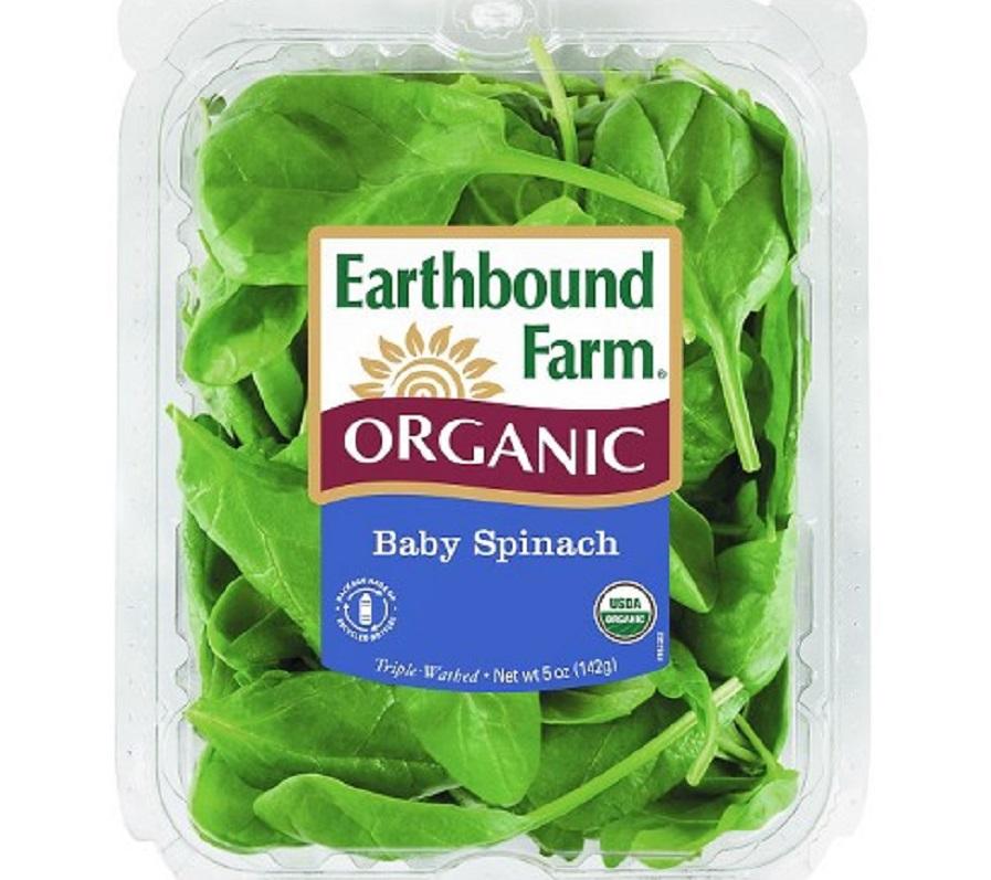 一個美國預先包裝菠菜樣本被檢出金屬雜質鎘超標。網上圖片