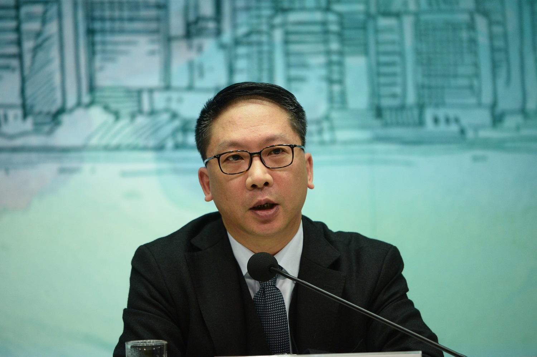 樹仁大學亦將頒授榮譽法學博士予袁國強,以肯定他在法律界的努力。資料圖片