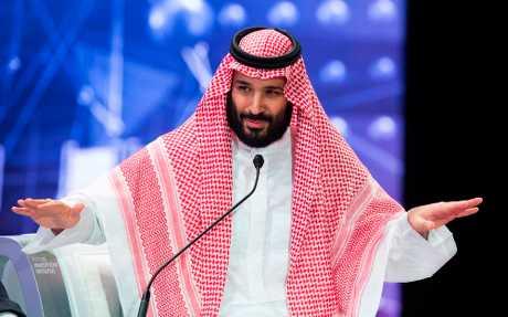 沙特王储穆罕默德.沙尔曼。