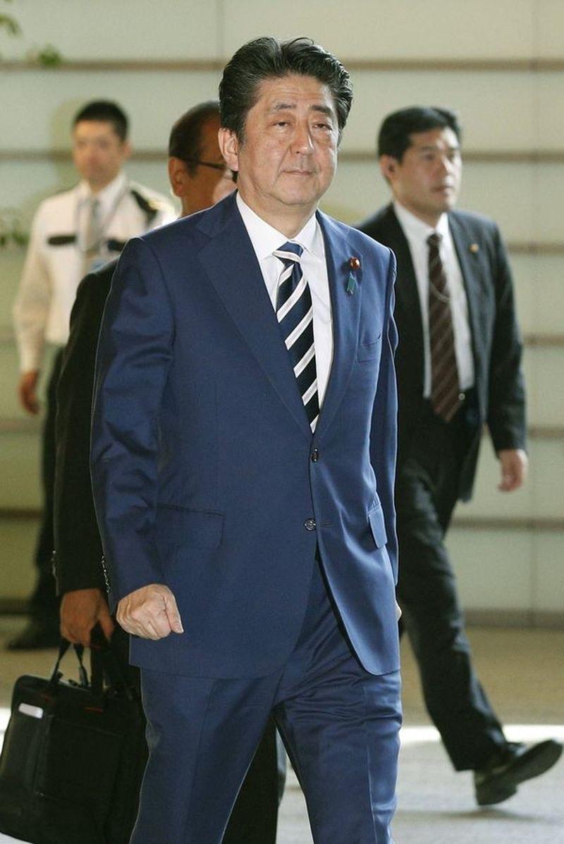 安倍晉三今天從東京啟程前往北京,出席中日和平友好條約締結40周年紀念活動。