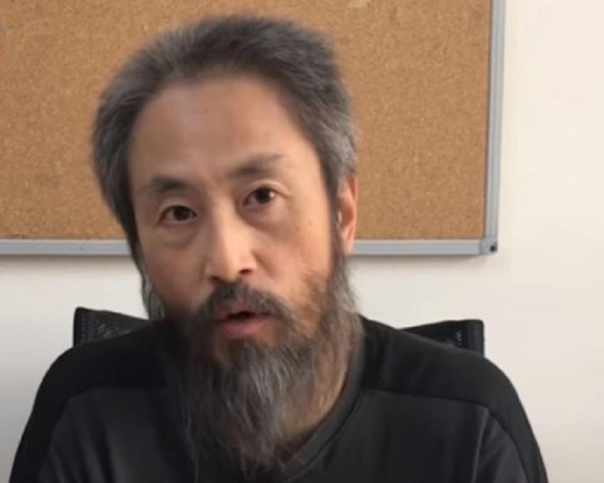 日本记者安田纯平。资网上图片
