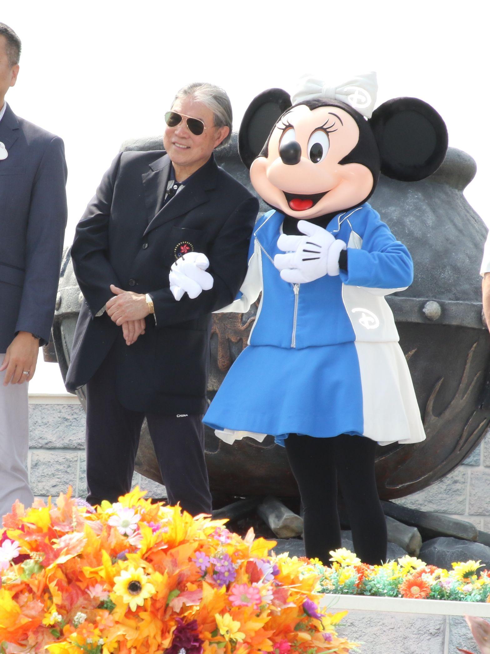 霍震霆期望政府支持香港舉辦國際大型運動會。王嘉豪攝